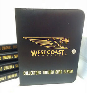 AFL CLUB COLLECTORS TRADING CARDS ALBUM (Inc.10 Pages) -- WEST COAST