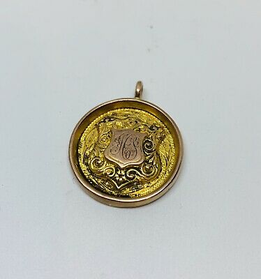 1930's W.H Samuels 9ct Gold Pocket Watch Chain Fob