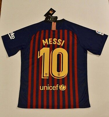 1837d1e6519 New with Tags Messi FC Barcelona Jersey 2017 18 Free Same Day ships from US