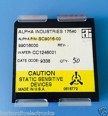 Sc9016-00 Alpha Industries Capacitor Chip Rf Microwave Product 50units Total