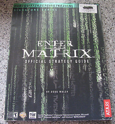Enter The Matrix (Brady Games Official Strategy Guide) PS2, XBOX, Gamecube, PC