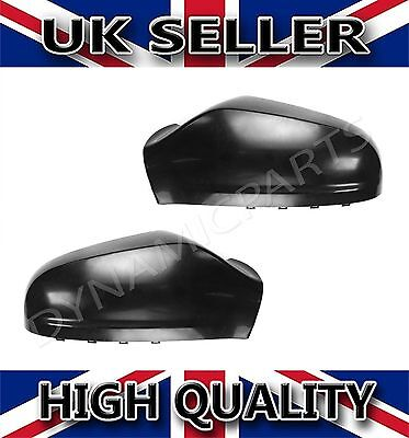 Vauxhall Astra H MK5 Wing Mirror Cover Cap Casing 04 09 Pair