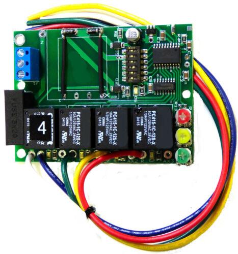 SL-3016  12 VOLT  RAILROAD DWARF SIGNAL CONTROLLER   ASPECT 2, 3, AND 4