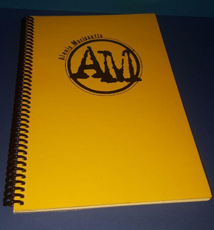 "ALANIS MORISSETTE 1996 TOUR ITINERARY EUROPE / AUSTRALIA "" JAGGED LITTLE PILL"""