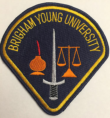 Brigham Young Utah UT University School College Police Sheriff Patch