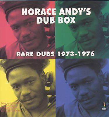 HORACE ANDY DUB BOX - RARE DUBS 1973-1976 NEW VINYL LP £10.99