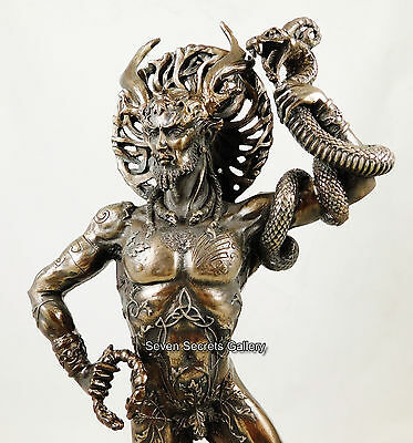 Cernunnos Figure Statue Celtic Pagan God Lord of the Wild Sculpture Figurine NEW
