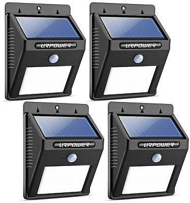 URPOWER Solar Lights 8 LED Wireless Waterproof Motion Sensor Outdoor Light  for ()