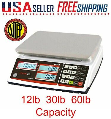 Tvp Price Computing Scale Lb Oz Kg Switchable Ntep Battery Operated 123060lb
