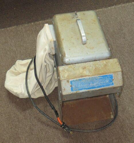 As-is Needs Work Baldor D60 Dental Lathe Polishing Machine Dust Collector 115VAC