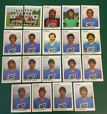 LOTTO DI 19 FIGURINE ALBUM CALCIATORI CALCIO FLASH 84 1983-84 CATANIA COMPLETA