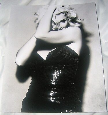 MADONNA 8X10 B&W Photo Glossy 1991 Vintage 91 Truth or Dare promo Vogue Virgin