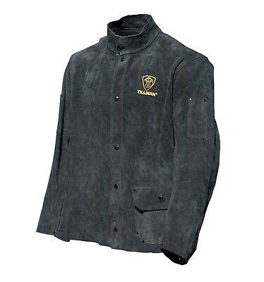 Tillman 3281 30 Black Split Leather Stick Welding Jacket Blowout Sale