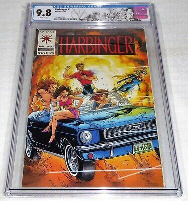 Harbinger #1 CGC Universal Grade Comic 9.8 1st Appearance Sting Kris Zephyr Book