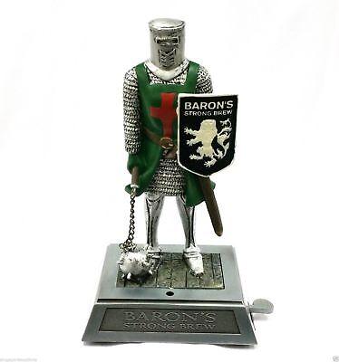 Collectible Baron's Strong Brew Medieval Knight Maceman Crusader Lighter Display