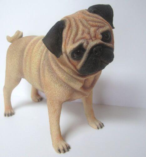 Playful Pug Figurine
