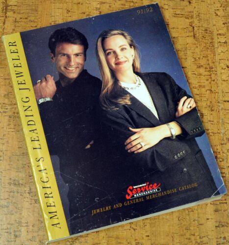 1991/92 SERVICE MERCHANDISE CATALOG ~ Jewelry, Electronics & General Merchandise