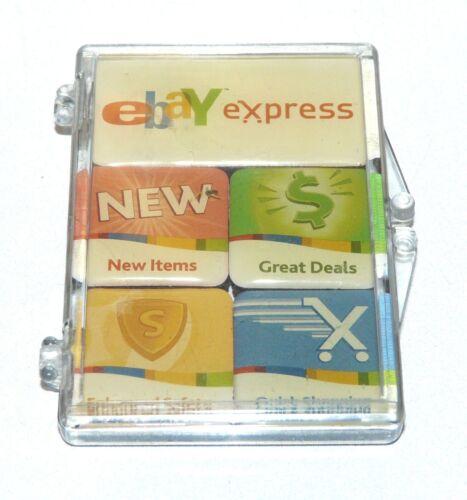 LOT OF 5 EBAY EXPRESS Mini Magnets in holder  eBay Live 2007 eBayana
