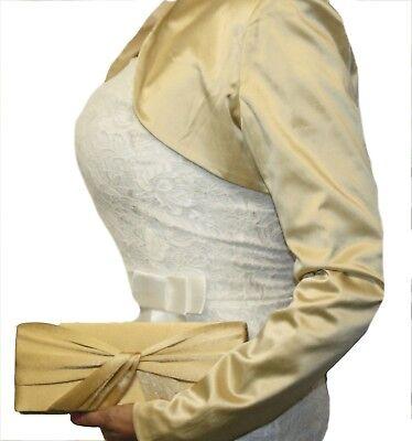 Damen-satin-clutch (Damen Satin  Clutch Abendtasche Umhängetasche Handtasche VIELE FARBEN)