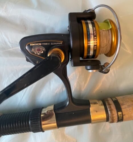 Spinning rod/reel combo Penn 4300 SS Reel & Eagle Claw Starfire 212