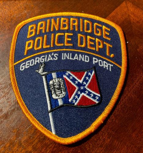 BAINBRIDGE GA POLICE PATCH -- GEORGIA