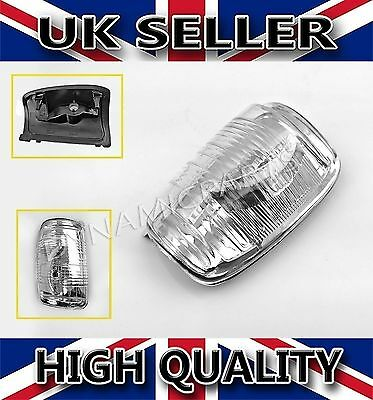 Ford Transit Mk8 Wing Mirror Indicator Lens Cover Clear LEFT (NSF) OEM Quality