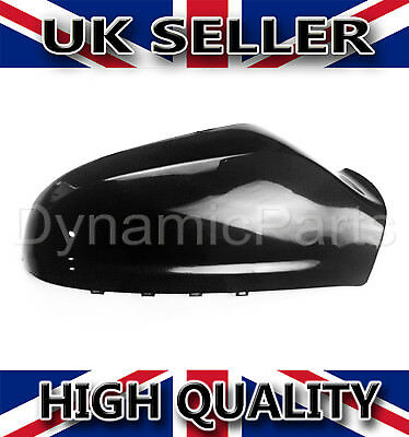 Vauxhall Astra H MK5 Wing Mirror Cover Cap Casing Right  OSF 04 09 Gloss Black