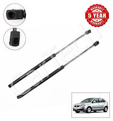 Pair of Tailgate Gas Support Struts 6Q6827550C for Polo Hatchback 9N 2001-2009