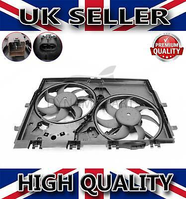FIAT DUCATO PEUGEOT BOXER CITROEN RELAY 2.0 2.2 TWIN COOLING RADIATOR FAN 1250H4