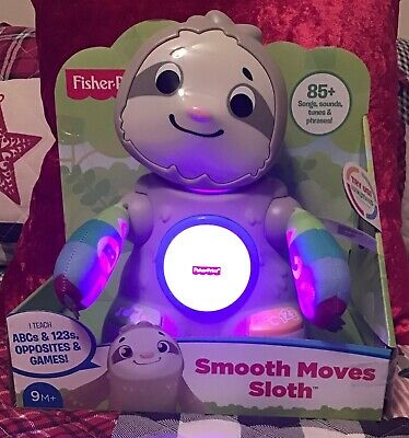 Fisher-Price Linkimals Smooth Moves Sloth 85+ Songs, Sounds, Tunes & Phrases
