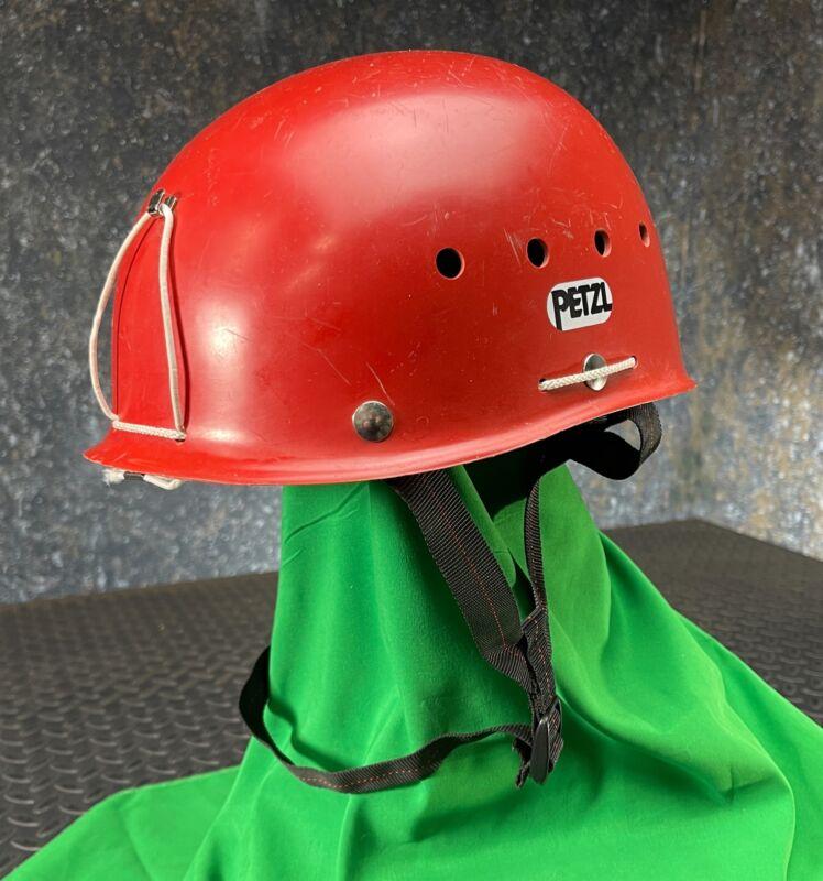 Petzl ECRIN Climbing Caving Adventure Helmet, Size M 50-56 cm - Red