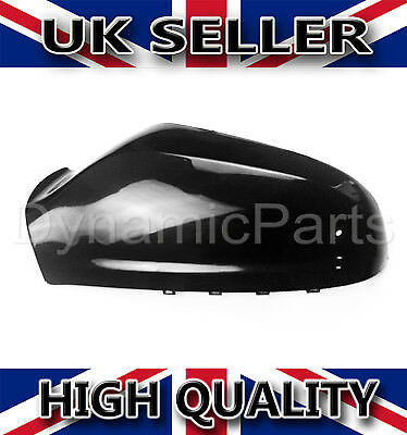 Vauxhall Astra H MK5 Wing Mirror Cover Cap Casing Left  NSF 04 09 Gloss Black