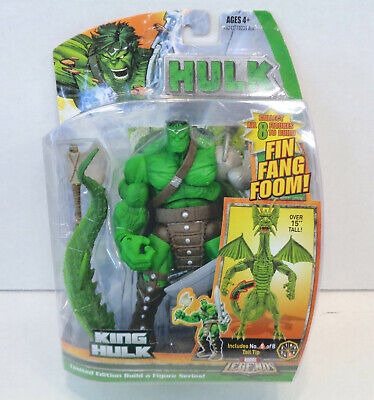 Marvel Legends: King Hulk Action Figure (2007) Hasbro New Fin Fang Foom BAF