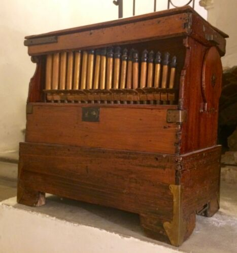 Old Mechanical ORGAN, Organo di Barberia XIX sec.