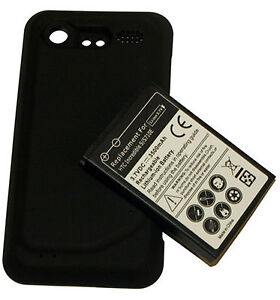 NEW EXTENDED BATTERY FOR HTC DROID INCREDIBLE 2 6350 +COVER 3500 Mah