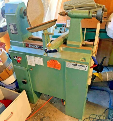 Woodfast M410 Variable Speed Woodturning Lathe Wood Turning - Local Pickup Only