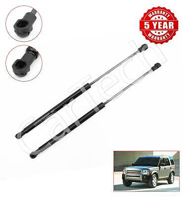 2x LAND ROVER DISCOVERY FRONT BONNET HOOD GAS STRUTS 2004-2009 230N 32030483