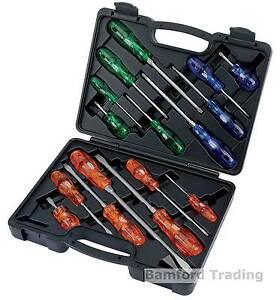 Draper Screwdriver Set Expert Quality Professional Engineers 43571 990/16 16 Pce