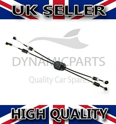 FORD TRANSIT MK7 2.2 FWD GEAR CHANGE SHIFT SELECTOR CABLES (06-13) 5 SPEED - RHD