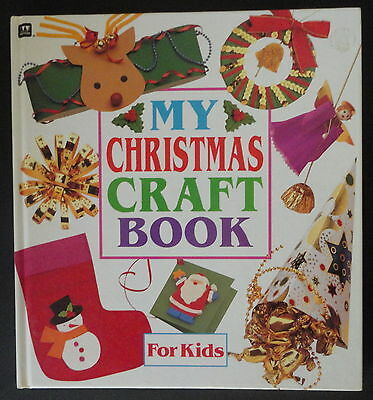 Christmas Kids Book Craft How To Illustrated Hardcover Easy Instructions 4-8 Yrs - Easy Kids Christmas Crafts