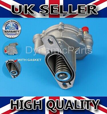 VW T4 TRANSPORTER LT MK2 CRAFTER 2.4 2.5 D TD TDI BRAKE VACUUM PUMP WITH GASKET