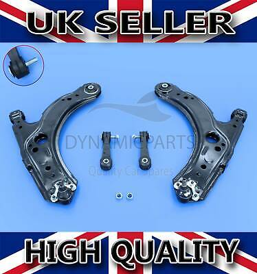 FRONT LOWER SUSPENSION WISHBONE CONTROL ARMS & LINKS RH+LH FOR SEAT LEON OCTAVIA