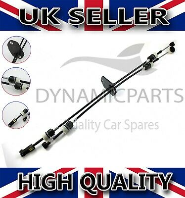 FORD TRANSIT MK7 2.4 RWD GEAR SELECTOR LINKAGE CABLE SET (06-13) 5 SPEED - RHD