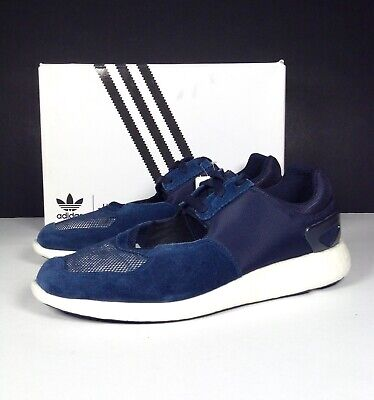 Adidas Originals Tokyo HYKE Trainers Navy Suede Active Breathable Gym S 10.5 NEW