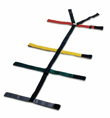 Dixie Ems 010308 Spineboard 10 Point Reflective Color Coded Spider Strap Typ...