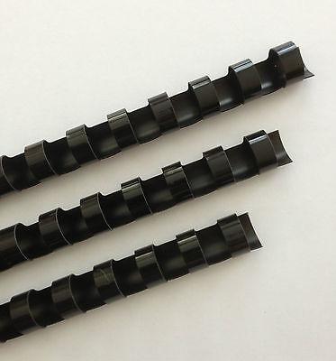 38 Plastic Binding Combs - Black - Set Of 25