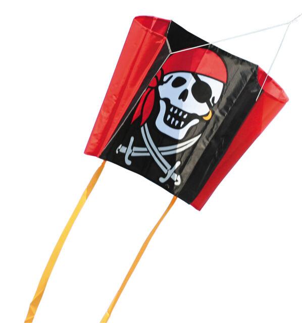 HQ Single Line Kites Kinderdrachen Sleddy Jolly Roger Freizeit Drachen