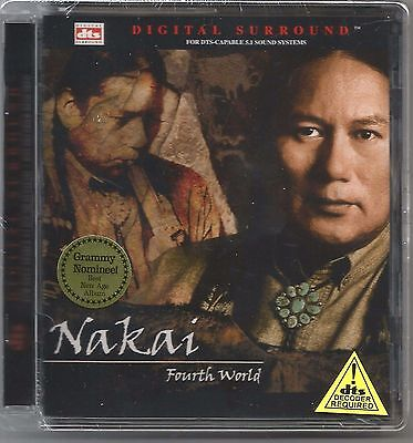 Sealed R  Carlos Nakai  Fourth World  Dts 5 1 Digital Surround Sound Cd Canyon