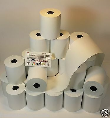 2-14x85 Thermal Credit Card Receipt Roll Paper Bpa Free Usa - 100 Rolls