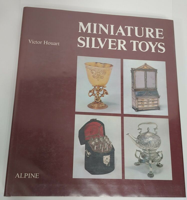 Antique Miniature Silver Toys Scarce Reference Book 1981 Ex.